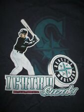 Majestic 2001 ICHIRO SUZUKI No. 51 SEATTLE MARINERS (MED) T-Shirt