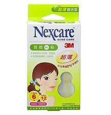 [NEXCARE] 3M Acne Dressing Pimple Trestment Patch Ultra Thin Combo 18 Patches