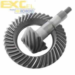 """EXCel Differential Ring and Pinion F88373; 3.73 Ford 8.8"""" 10-Bolt for Ford"""