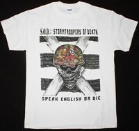 SOD: Stormtroopers Of Death Speak English Or Die SHIRT