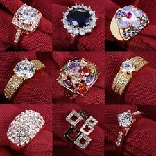 Wedding Bridal Size 7 8 9 Jewellery Crystal / Cubic Zirconia Flower Women Ring