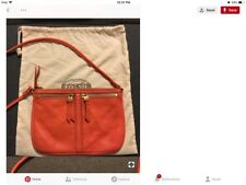 FOSSIL Bag  ELISE Double Zip Leather Crossbody