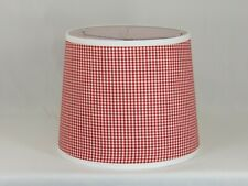 Albert Estate LTD, Red and White Check Shade, 14 Washer