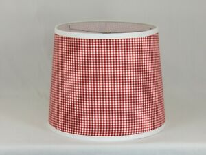 Albert Estate LTD, Red and White Check Shade, 12 Washer