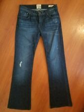 DYLAN GEORGE Alexandra Flare Jeans size 26 x 29 Stretch Distressed