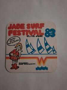 Bierdeckel 1983 - Jade Surf Festival - Wilhelmshaven  - Jever