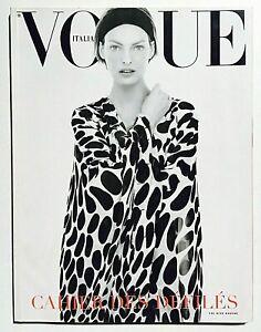 Dossier Sfilate Vogue Italia 617 gennaio 2002 Primavera Estate Linda Evangelista