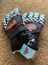 Lighting McQueen Kids winter gloves black Disney Pixar Cars Retails $24.00