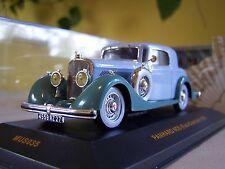 1/43 ixo Museum, 1935 Panhard 6CS Faut-Cabriolet. Diecast Model Car