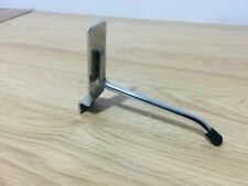 "99 x 4"" SLAT WALL SLATWALL PRONG ARM HOOKS RETAIL DISPLAY SHOP FITTING"