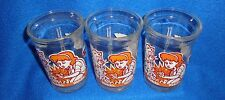 1993 Lot of (3) Tom & Jerry Welch's Glasses Great Condition
