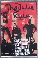 THE JULIE RUIN 2015 Gig POSTER Leeds UK Concert KATHLEEN HANNA Bikini Kill