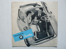 Prospekt BMW Isetta - das spricht für Isetta, 5.1957, 16 Seiten