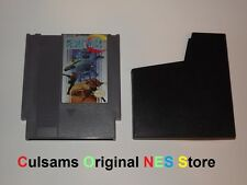 ORIGINAL NINTENDO NES SUPER C GAME & PROTECTIVE SLEEVE WITH A 30 DAY GUARANTEE