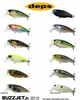 Deps Buzzjet Jr. Topwater Lure - Select Color(s)