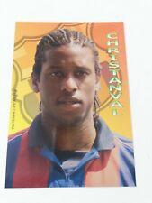 POSTAL PHILIPPE CHRISTANVAL FC BARCELONA 2001-2002 FOOTBALL POSTCARD BARÇA