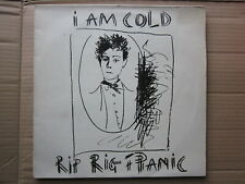 Punk Post Punk New Wave 80's LP-Rip Rig + Panic-I Am Cold-UK Virgin Double Album