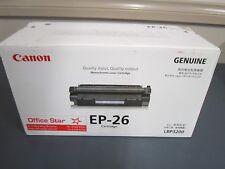 Canon Genuine EP26 Black Toner Cartridge