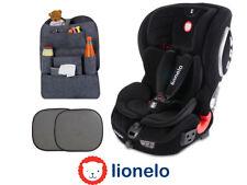 Car seat Lionelo Jasper Suede ISOFIX TETHER 9-36 kg + 2x Sun cover + Organizer