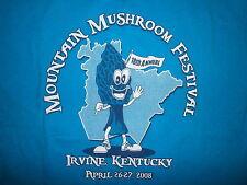 MOUNTAIN MUSHROOM FESTIVAL T SHIRT Morel Hunting Agate Appalachian Kentucky