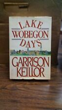 Lake Wobegon Days by Garrison Keillor (1985, Hardcover)(B-71F)