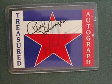 Paul Holmgren & Darryl Sittler Treasured autograph card - Flyers