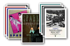 SPARKS - 10 promotional posters  collectable postcard set # 2