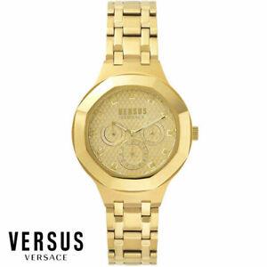 Versus by Versace VSP360517 Laguna City gold Edelstahl Armband Uhr Damen NEU