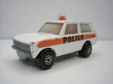Diecast Matchbox Rolamatics Police Patrol No. 20 White Good Condition