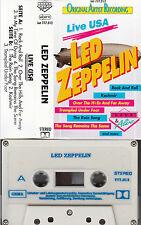 LED ZEPPELIN - Live USA > MC Musikkassette
