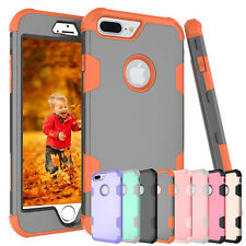 Shockproof Hybrid Rugged Rubber Hard Silicone Case Cover For iPhone 7 7 Plus 6s