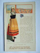 ASPIRINA BAYER Bologna Garisenda vecchia cartolina