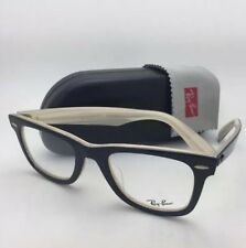Iconic New RAY-BAN WAYFARER Eyeglasses RB 5121F 2464 50-22 Black on Horn Frames
