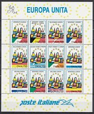 ITALY 1992 EUROPE S/S (ref 7) MNH