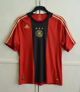 Germany National Team 2008/2009 Away Football Shirt Soccer Jersey Adidas Size L