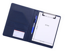 Small Padfolio Clipboard A5 Folder for Writing Pad Refillable 5 x 8 Note pad, My