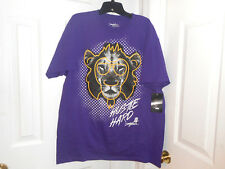 MISKEEN Men Purple Hustle Hard  Shirt            Size: Large