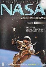 TRIUMPH AND TRAGEDIES - NASA 25 YEARS - VOLUME 1 - NEW & SEALED DVD
