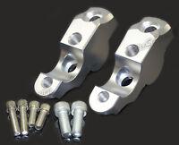 Argentomanubrio riser rialzi +28mm posteriore +25mm per BMW R1200 R Nine T R9T