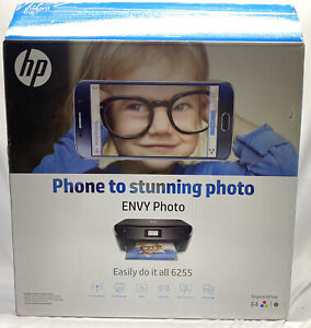 HP ENVY Photo 6255 All in One Photo Wireless Printer, Instant Ink ready (K7G18)