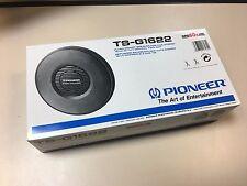 """Vintage PIONEER TS-G1622 16cm 6 1/4"""" 60W PAIR CAR SPEAKERS 2WAY Coaxial NOS"""