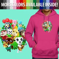 Animal Crossing Isabelle K.K. Slider Group Pullover Sweatshirt Hoodie Sweater