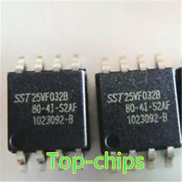 10 PCS SST25VF032B-80-4I-S2AF SOP-8 SST25VF032 25VF032 32 Mbit SPI Serial Flash