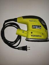 Sander Ryobi Cfs1503G 1.2 Amp Corded Finishing Detail Power Tool For Parts.