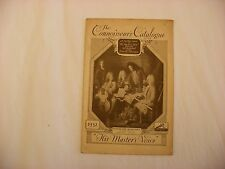 Original Phonograph Record Catalog - Victor - HMV Connoisseur's Catalogue 1932