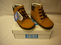 Pex Baby Boys Boots Tan/Brown Leather Upper Style Samuel Lace Up Size 2-5 UK