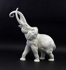 Porzellan-Figur Großer Elefant bisquit  Kämmer 9944148