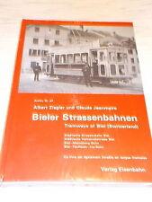 Bieler Strassenbahnen - Tramways of Biel Switzerland , OVP