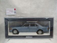 Mercedes-Benz 560 SEL 1991 Perlblau/pearl blue metallic 1:18 Norev