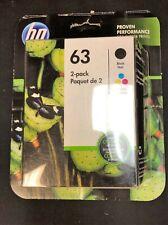 HP 63 (L0R46AN) Tri-Color/Black Ink Cartridge